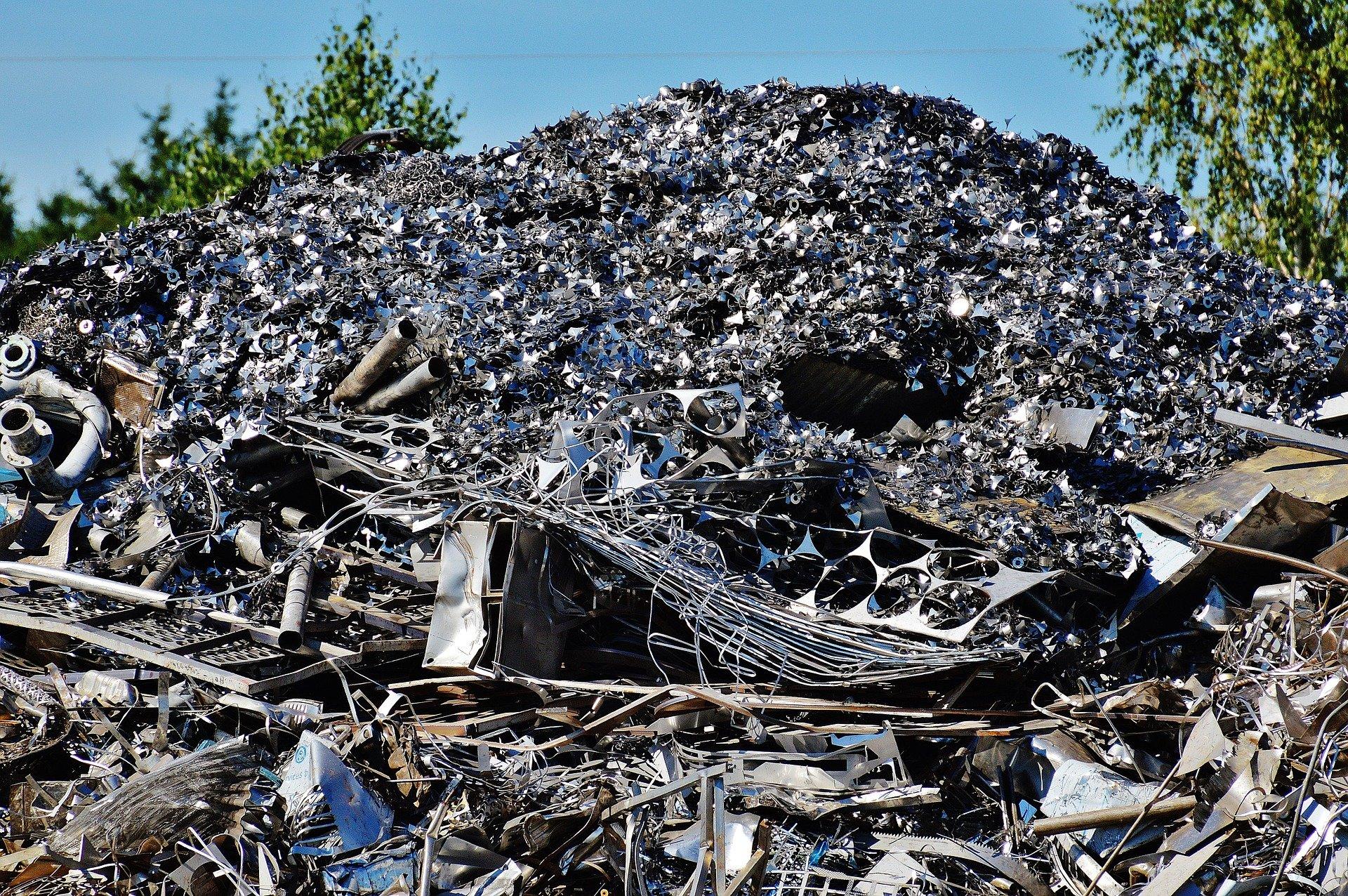 Settore ecologia: recupero rottami ferrosi