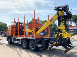 Custom timber loader not foldable in Belarus