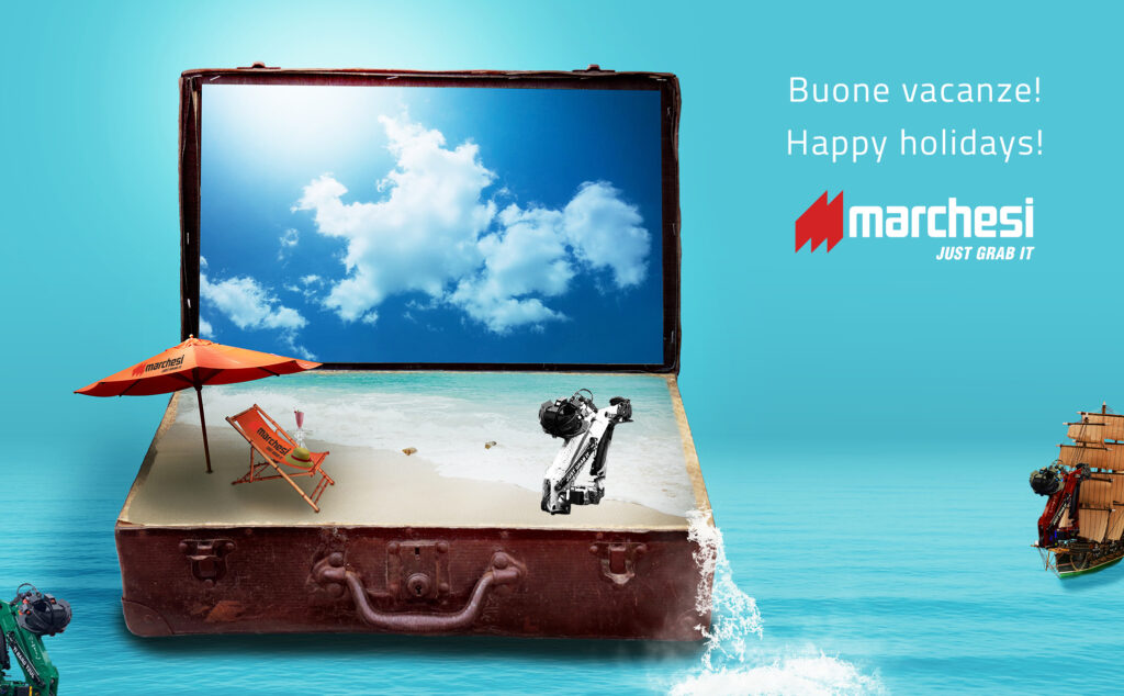 Buone vacanze -Happy Holidays Marchesi Gru