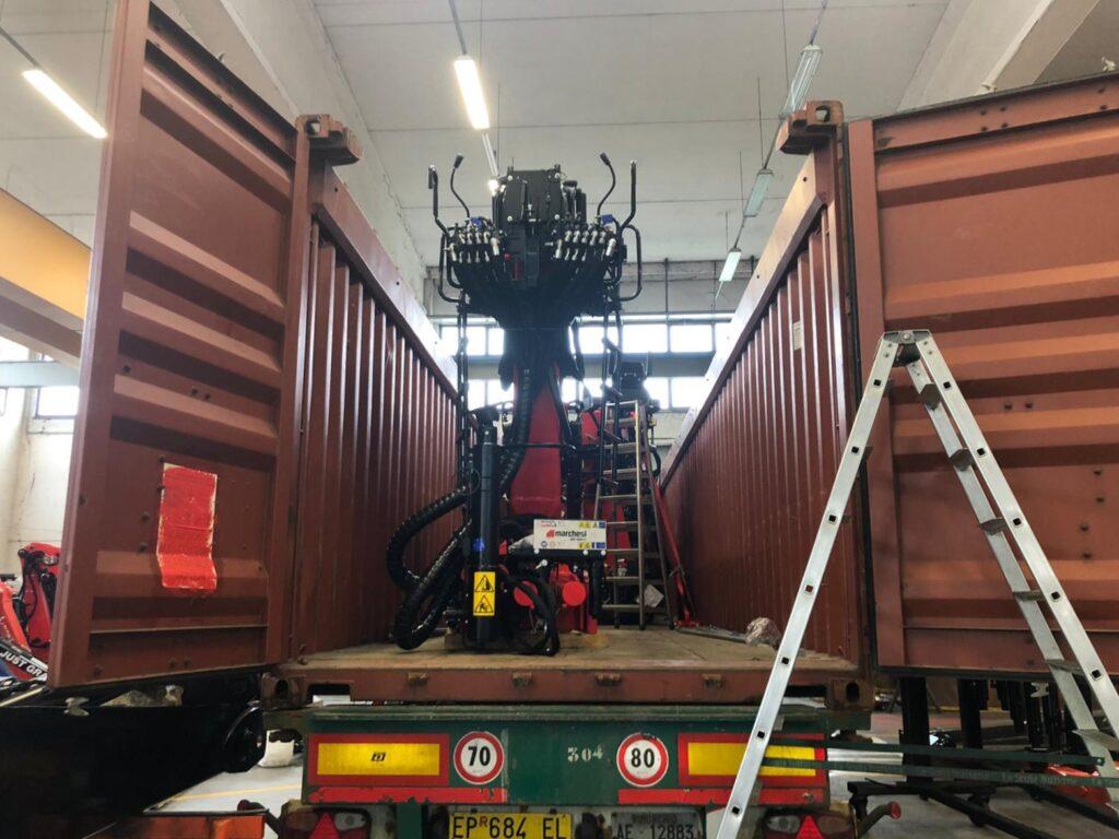 marchesigru-truckmountedcranes-deliveredtoargentina
